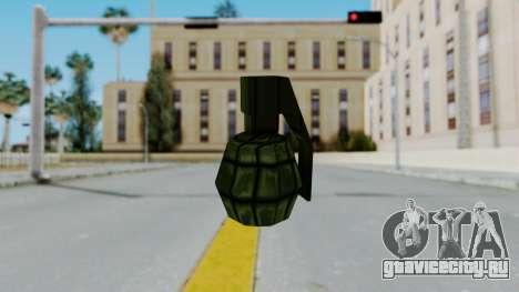 GTA 3 Grenade для GTA San Andreas второй скриншот