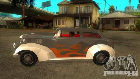 GTA LCS Thunder-Rodd для GTA San Andreas вид слева