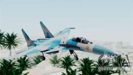 SU-37 Indian Air Force для GTA San Andreas