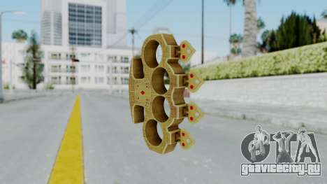 The Player Knuckle Dusters from Ill GG Part 2 для GTA San Andreas