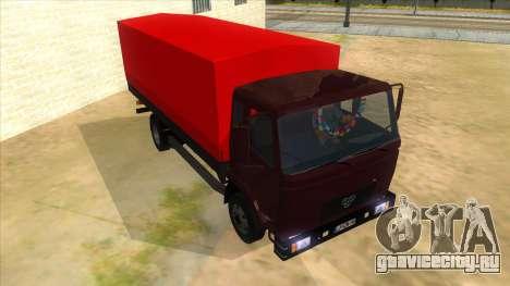 1991 TAM 130 T11 для GTA San Andreas вид сзади