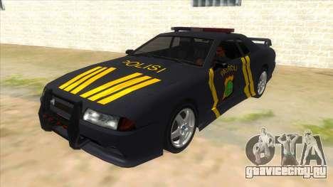 Elegy NR32 Police Edition Grey Patrol для GTA San Andreas