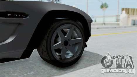 GTA 5 Coil Brawler Coupe IVF для GTA San Andreas вид сзади слева