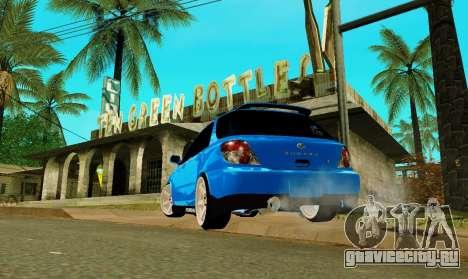 Subaru Impreza WRX STi Wagon 2003 для GTA San Andreas вид слева