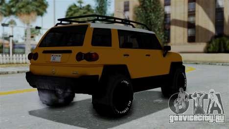 GTA 5 Karin Beejay XL Offroad для GTA San Andreas вид слева