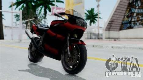 FCR-900 Custom для GTA San Andreas вид сзади слева