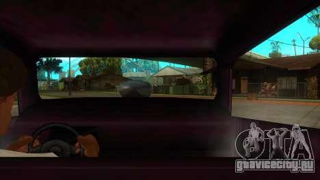 Diablos Hotknife для GTA San Andreas вид изнутри