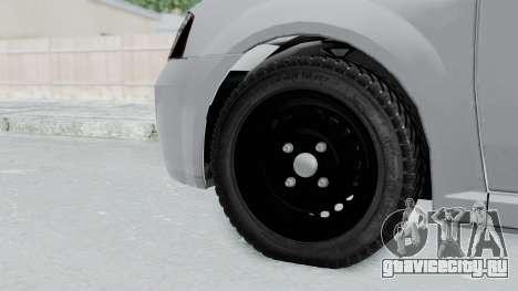 Dacia Logan для GTA San Andreas вид сзади слева