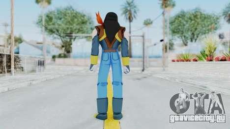 DBZBT3 - Super 17 для GTA San Andreas третий скриншот