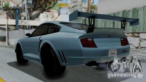 GTA 5 Comet Tuning для GTA San Andreas вид слева