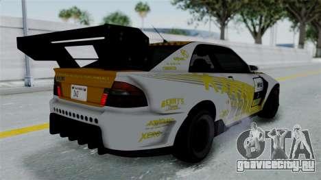 GTA 5 Karin Sultan RS Drift Big Spoiler PJ для GTA San Andreas двигатель
