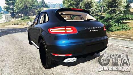 Porsche Macan Turbo 2015 для GTA 5