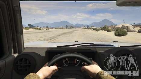 Hummer H2 для GTA 5 вид сзади