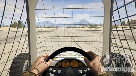 Kart Cross для GTA 5 вид сзади