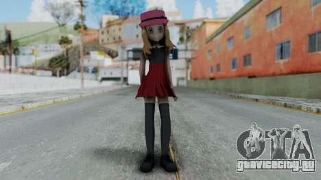 Pokémon XY Series - Serena для GTA San Andreas второй скриншот