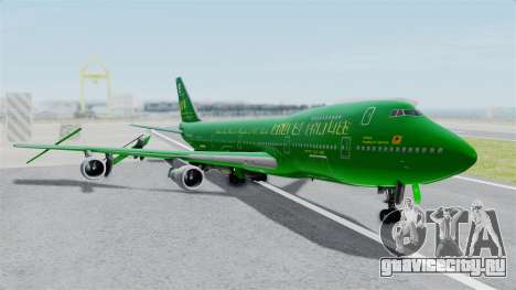 Boeing 747-100 Grove Street для GTA San Andreas