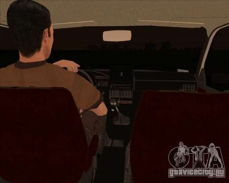 ИЖ Ода 1.6e для GTA San Andreas вид сзади слева