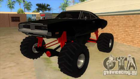 1969 Dodge Charger Monster Truck для GTA San Andreas
