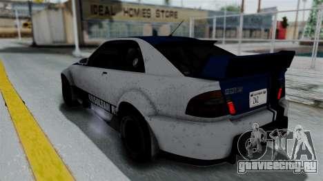 GTA 5 Karin Sultan RS Rally PJ для GTA San Andreas двигатель