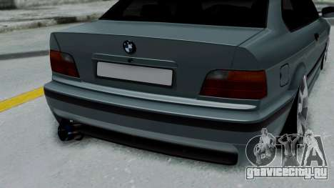 BMW 320 E36 Coupe для GTA San Andreas вид сзади