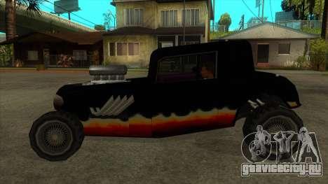 Diablos Hotknife для GTA San Andreas вид слева
