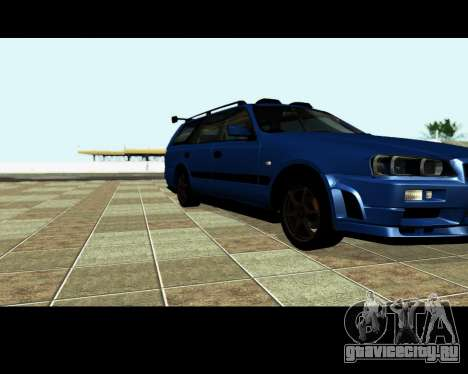 Nissan Stagea Tunable для GTA San Andreas колёса