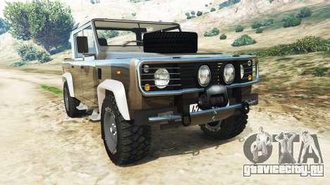 Land Rover Defender 110 Pickup для GTA 5