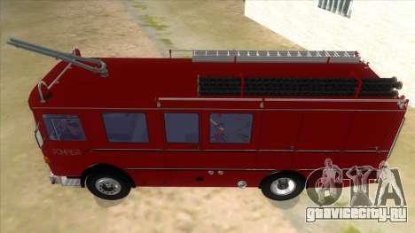 Roman 8135 FA для GTA San Andreas вид изнутри