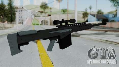 GTA 5 Heavy Sniper (M82 Barret) для GTA San Andreas третий скриншот