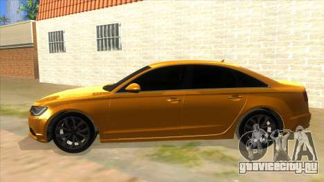 Audi A6 2012 для GTA San Andreas вид слева