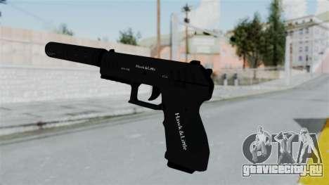 GTA 5 Combat Pistol для GTA San Andreas третий скриншот