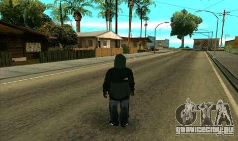 BALLAS1 для GTA San Andreas третий скриншот