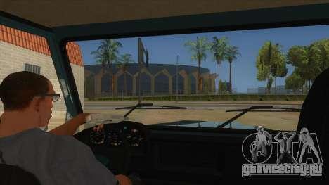 Aro 246 (1996) для GTA San Andreas вид изнутри