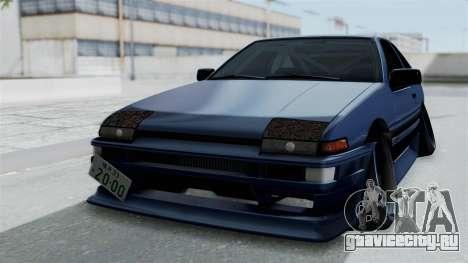 Toyota AE86 Trueno Hella для GTA San Andreas