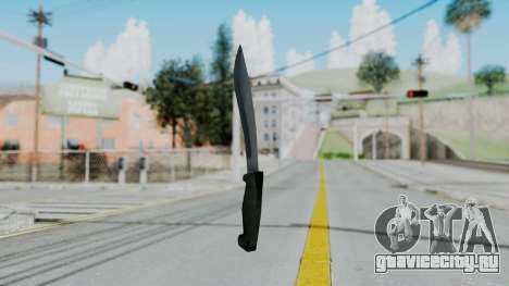 Vice City Knife для GTA San Andreas второй скриншот