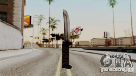 Batman Arkham City - Knife для GTA San Andreas
