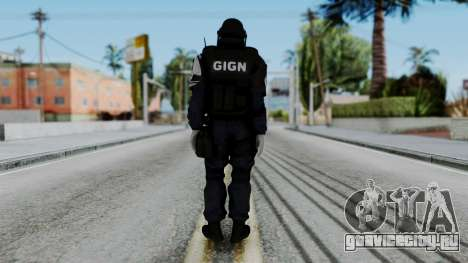 GIGN Gas Mask from Rainbow Six Siege для GTA San Andreas третий скриншот
