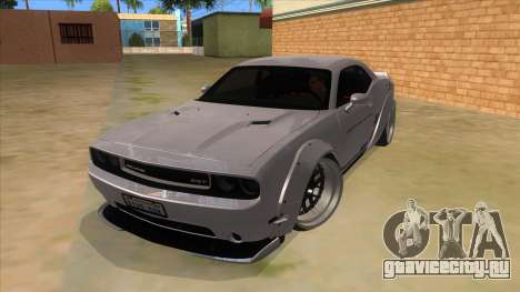 2012 DODGE CHALLENGER SRT8 Liberty Walk для GTA San Andreas