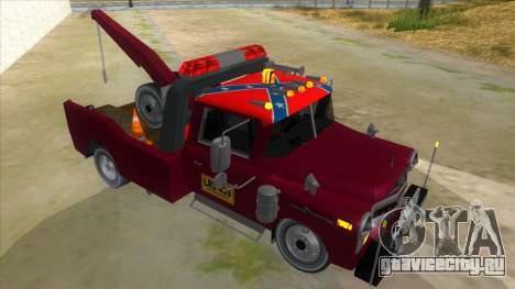 Chevrolet Towtruck 1954 для GTA San Andreas вид справа