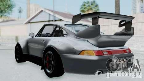 Porsche 911 GT2 Widebody 1995 NFS 2015 для GTA San Andreas вид слева
