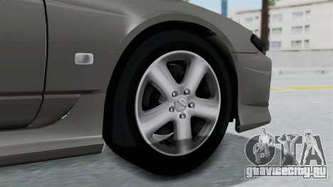 Nissan Silvia S15 Spec-R 2000 для GTA San Andreas вид сзади слева