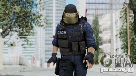 GIGN 1 Masked from CSO2 для GTA San Andreas