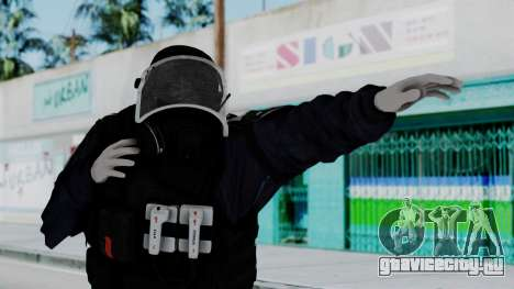 GIGN Gas Mask from Rainbow Six Siege для GTA San Andreas
