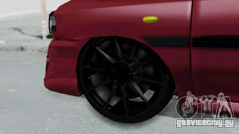 Kia 131 SX Full Tuning для GTA San Andreas вид сзади слева