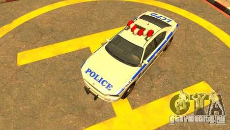 Bravado Buffalo Police Patrol [original wheels] для GTA 4 вид справа