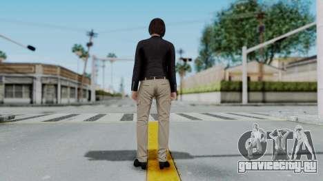 GTA 5 Karen Daniels Biker для GTA San Andreas третий скриншот