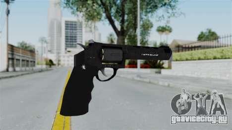 GTA 5 Heavy Revolver - Misterix 4 Weapons для GTA San Andreas второй скриншот