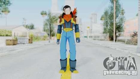DBZBT3 - Super 17 для GTA San Andreas второй скриншот
