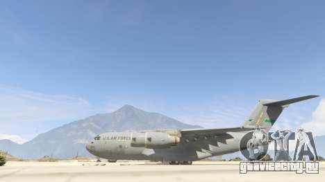 C-17A Globemaster III v.1.1 для GTA 5 второй скриншот