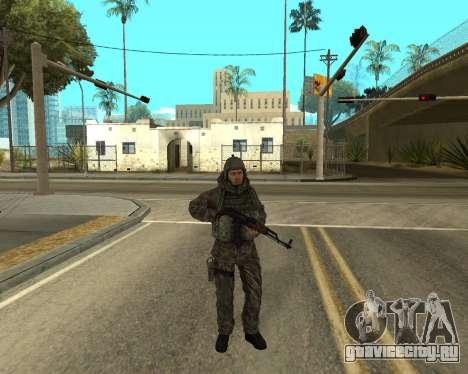 Русская армия Skin Pack для GTA San Andreas седьмой скриншот